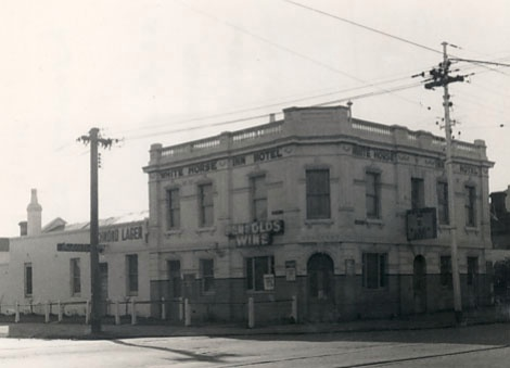 Early Image Of The Hawthorn Hotel